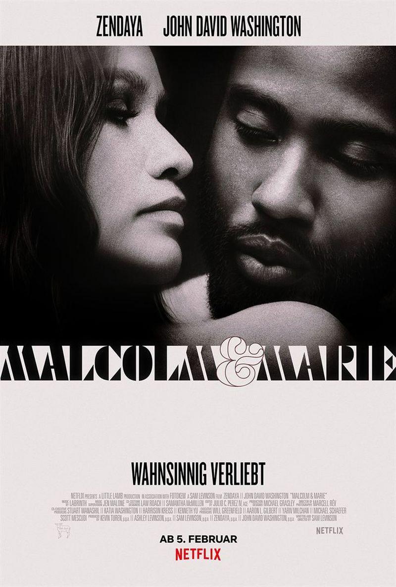 Malcolm & Marie | © Netflix