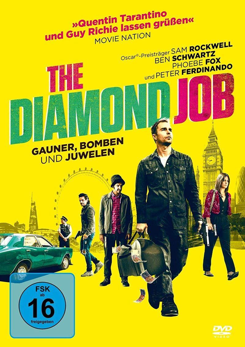The Diamond Job - Gauner, Bomben und Juwelen   © Koch Media