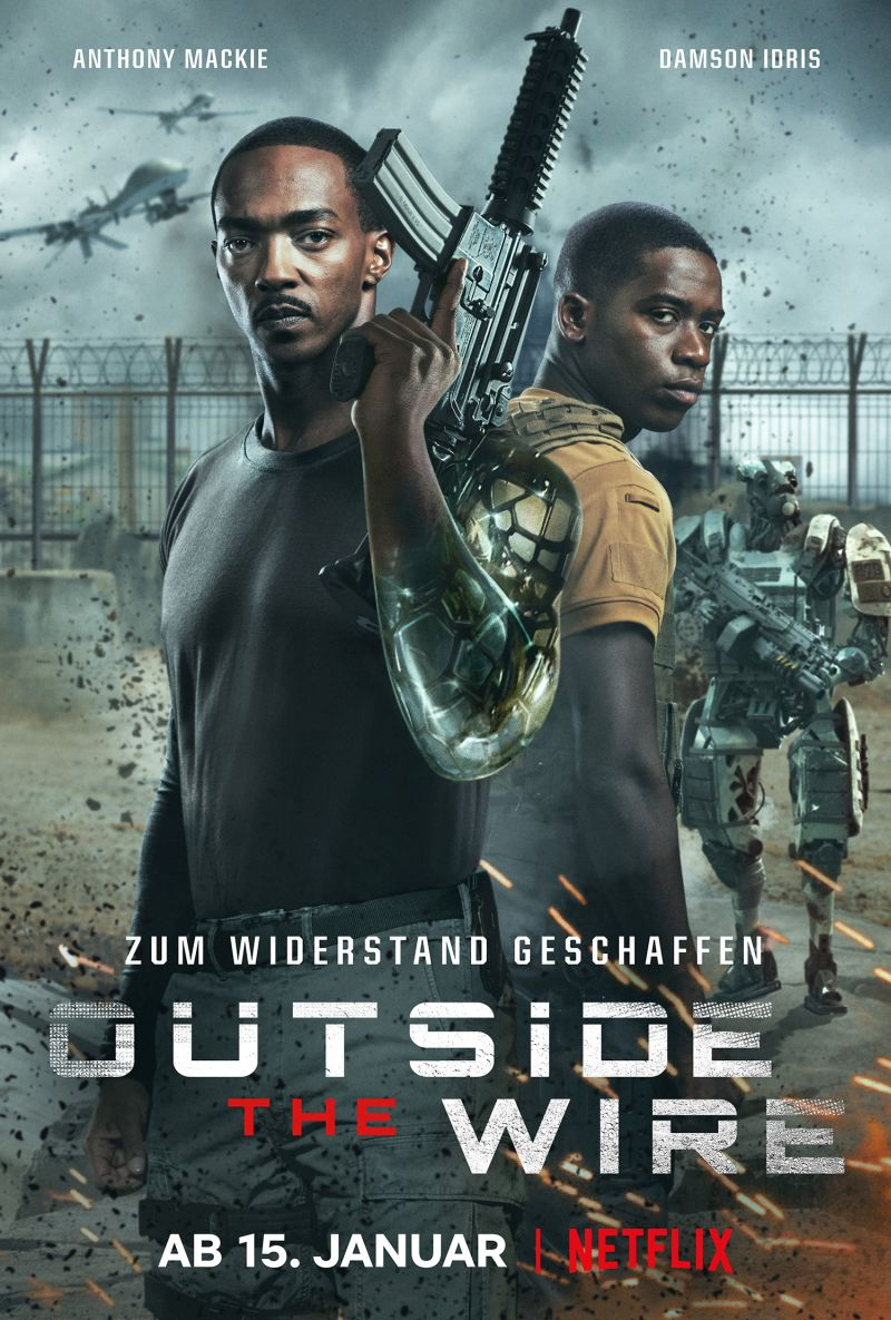 Outside the Wire | © Netflix