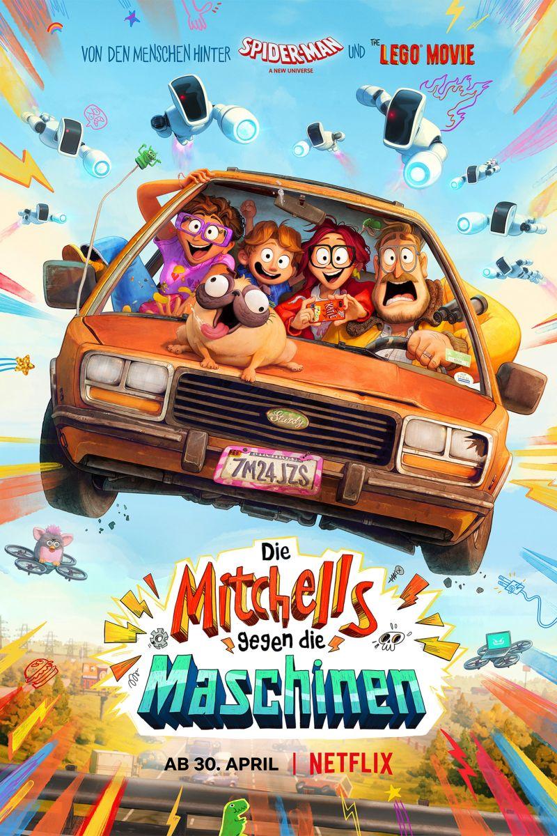 Die Mitchells gegen die Maschinen   © Netflix