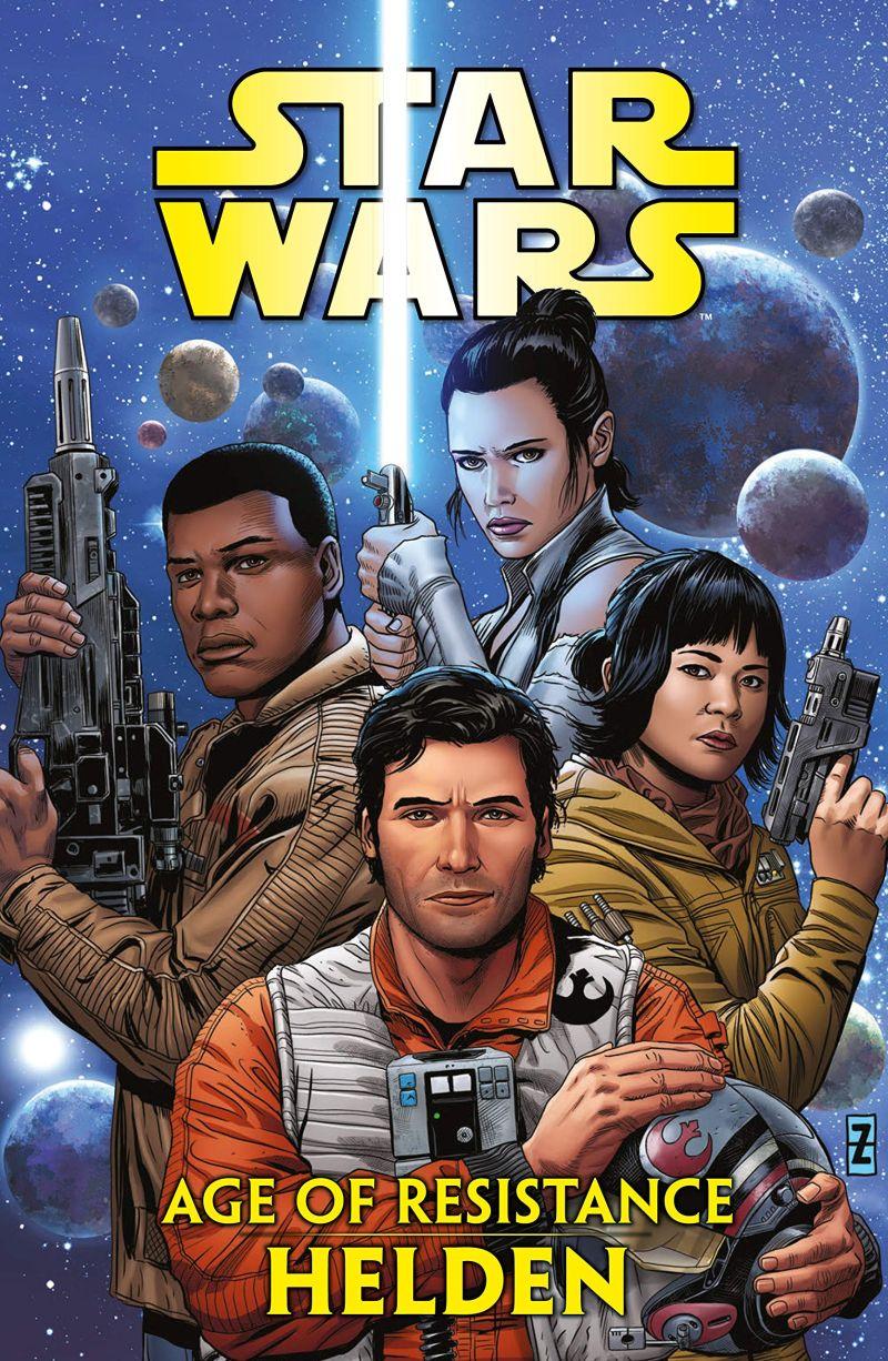 Star Wars: Age of Resistance - Helden   © Panini