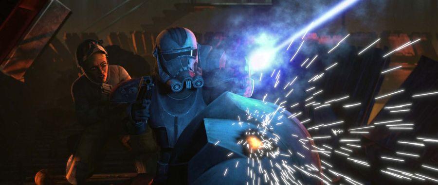 Szenenbild aus Star Wars: The Bad Batch   © Disney+